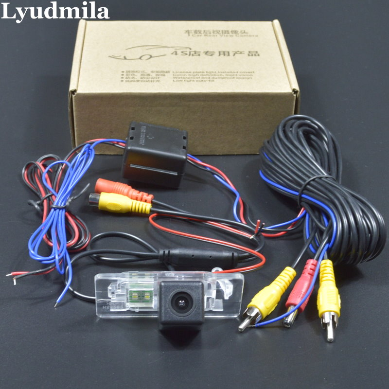 LYUDMILA Car Power Relay Model For Audi A5 S5 Q5 RS5 A6 S6 A7 S7 Car Parking Camera / Rear View Camera / HD CCD Night Vision