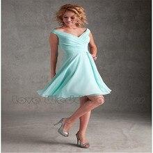 Chiffon Criss Cross V Neck Short Bridesmaid Dresses A Line Knee Length Bridesmaid Dress Draped Backless Vestido De Festa