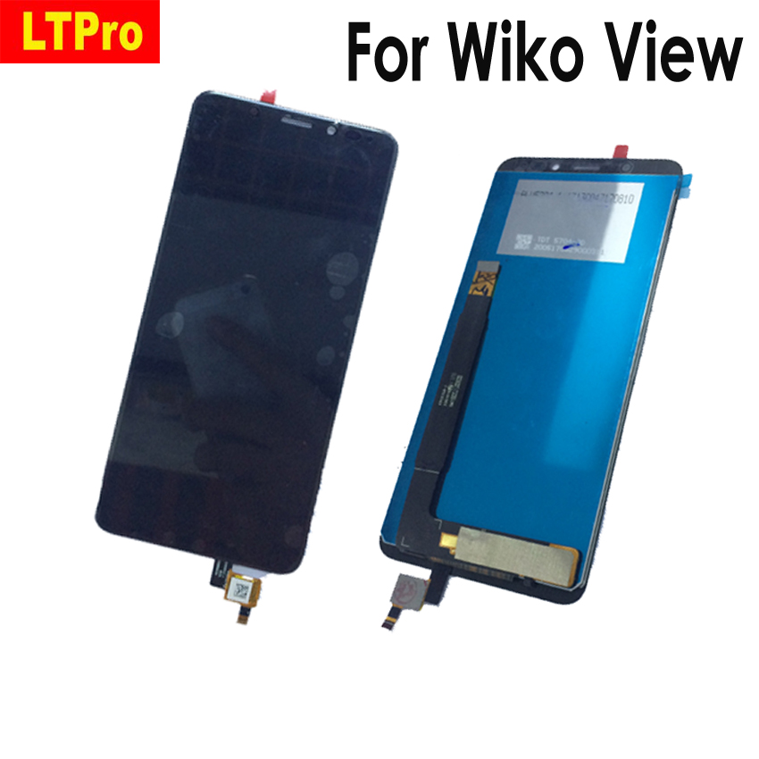 LTPro Best Tested Working Touch Screen Digitizer LCD Display Assembly For Wiko View 5.7 Mobile Phone PartsLTPro Best Tested Working Touch Screen Digitizer LCD Display Assembly For Wiko View 5.7 Mobile Phone Parts