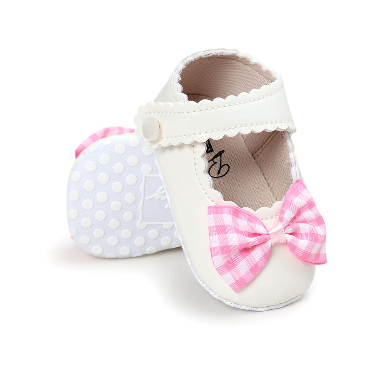Autumn Infant Baby Girl Soft Sole PU Leather First Walkers Bebe Crib Bow Shoes 0-18 Months Moccasins Shoes New Arrival