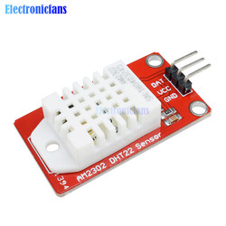 AM2302 DHT22 5V Single Bus Interface Digital Temperature & Humidity Sensor Module  For Arduino Uno R3 ONE High Precision