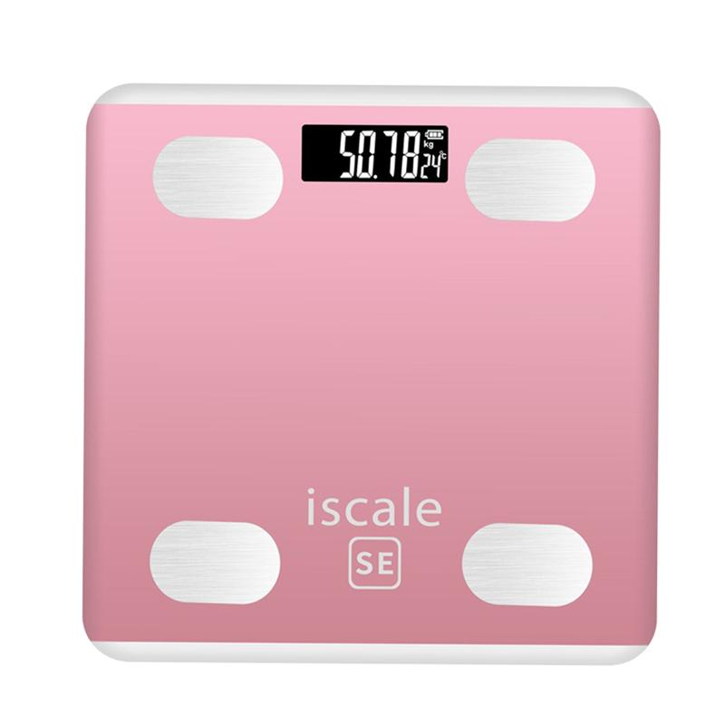1PC Body Weight Scale Digital Bluetooth Smart Body Scale for Women Teenager Children|Bathroom Scales| |  - title=