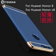 2017new Huawei honor 8 case ТЕГЕРАН оригинальный Huawei honor V8 задняя крышка case hard luxury coque матовый Матовый PC Защитная case