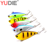 New Product 1Pcs High Quality Spinner Plastic Hard Bait 5 Colors Winter ice Fishing 3D Eye Mino Bass Bait Fishing Gear