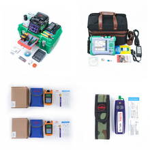Fedex free shipping Fusion Splicer GX37 with OTDR QX50-S 1310/1550nm SM OPM OLS and VFL  combos стоимость