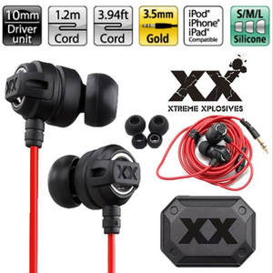 Samsung HA-FX1X Deep Bass Sound Earphones for iPhone PC MP3 Xtremed Headphone Stereo