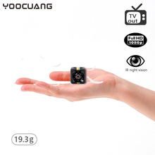 YOOCUANG SQ11 mini camcorder portable audio video camcorder mini camera HD video camera 1080P Night Vision Sport Outdoor DV