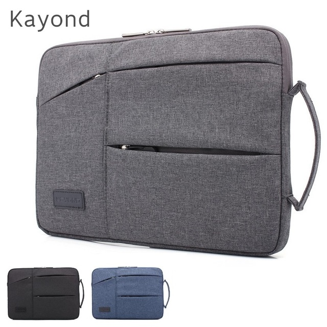 2019 Brand Kayond Bag For Laptop 11,12,13,14,15,15.6 inch, Handbag Sleeve Case For Macbook Notebook 13.3,15.4,Free Drop Shipping