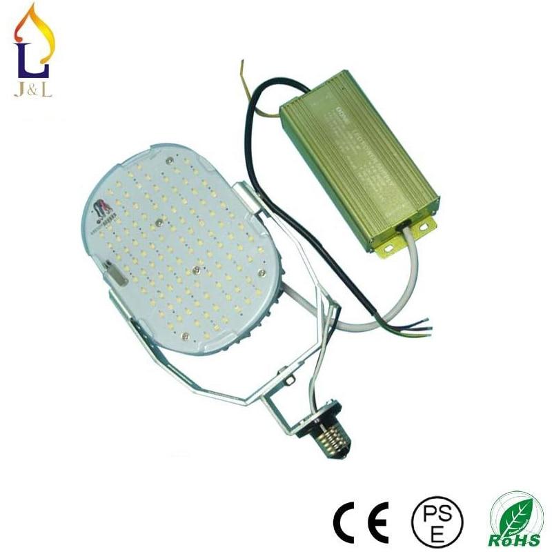 ФОТО 6 pcs/lot bulb base 100W 120W 150W led retrofit kits wall pack outdoor LED street light replacement with E27 E40 E26 E39 base