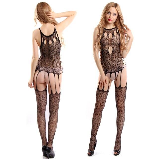 2019 Lenceria Lingerie Sexy Maglia Nero Della Del Erotica Fiore qqw5RrP8n