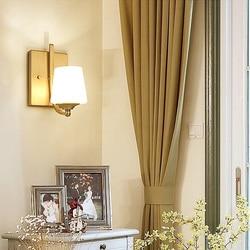 Miedzi światła kinkiety ścienne E27 mosiądz ścienny lampy nowoczesne do sypialni jadalnia toalety dekoracja do hotelu lub domu do montażu na ścianie u nas państwo lampy|Wewnętrzne kinkiety LED|   -