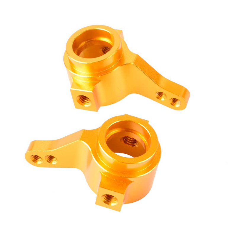 1Pair Tamiya CC01 Aluminum Steering Knuckles Hub Carrier for 1/10   RC Model Cars Upgraded Parts  TA02 TA03#-02