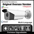 HIKVISION DS-2CD2T42WD-I8 (6mm) Original Inglés Versión IP Cámara de $ NUMBER MP IPC H265 P2P Onvif POE CCTV Cámara de Seguridad cámara HD HIK