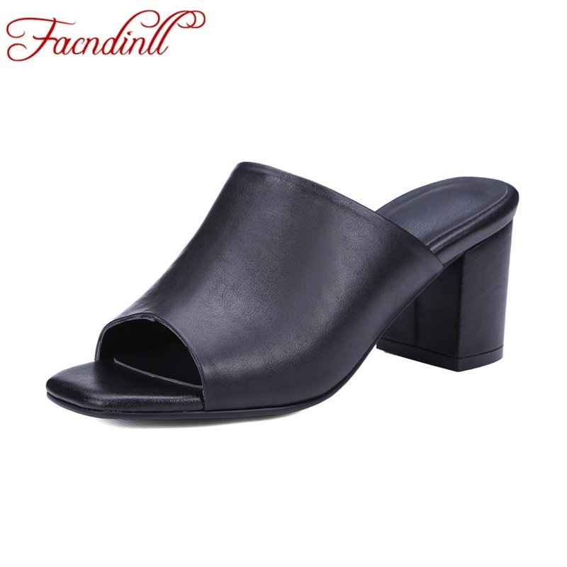Concise summer shoes fashion genuine leather women sandals sexy open toe high heels lady casual dress shoes platform slippers mudibear women sandals pu leather flat sandals low wedges summer shoes women open toe platform sandals women casual shoes