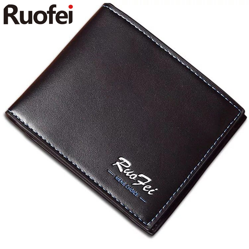 2017 men Leather Brand Luxury Wallet Vintage Minimalist Short Slim Male Purses Money Clip Credit Card Dollar Price safebet brand genuine leather wallet men fashion luxury wallet with coin pocket male purses money clip credit card dollar price