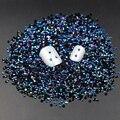 Negro Magia del Color del AB Jalea 2mm Rhinestone de la Resina Del Arte Del Clavo teléfono Palo Rhinestones del hotfix no Utiliza Pegamento Caliente Venta 2000 unids M02998