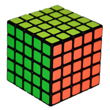 Shengshou Linglong 5x5 Square Shape Speed Magic Cube Puzzle Children Kids Educational Toys shengshou 6x6x6 46mm speed magic cube puzzle game cubes educational toys for kids children birthday gift