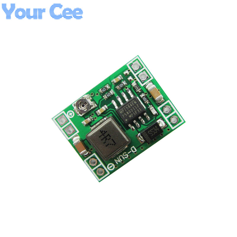 5 pcs - 5 pcs Ultra-Small Size DC-DC Step Down Power Supply Module 3A Adjustable Buck Converter for Arduino Replace LM2596