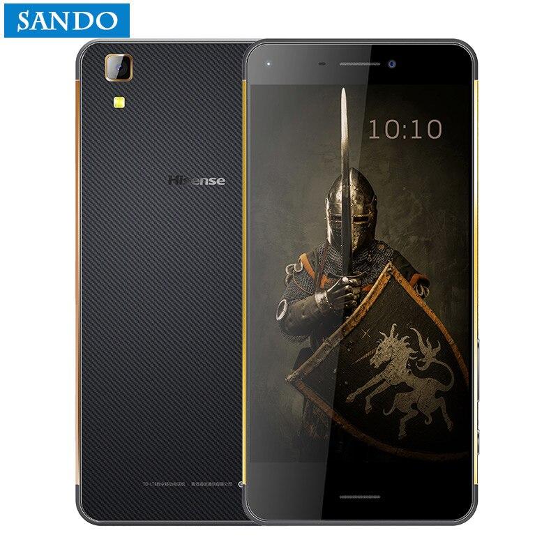 2017 Nouveau ultra-mince Hisense K1 Robuste Téléphone Étanche IP6 FDD_LTE CDMA Octa Core 4 GB 64 GB 16.0MP 3000 mAh 5.2 pouce IPS HD