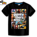 short sleeve children boys girls t shirt kids wear clothes 6 colorful 1 gta street fight showerlikids motor cool logo