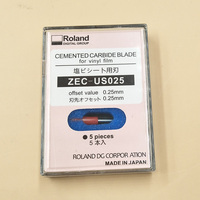 Original 5pcs Imported Roland Blade 45 degree ZEC US025 For Roland Cutting Plotter blades (0.25mm) printers