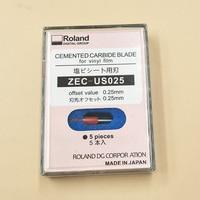 Original 5pcs Imported Roland Blade 45 degree ZEC US025 For Roland Cutting Plotter blades (0.25mm) printers