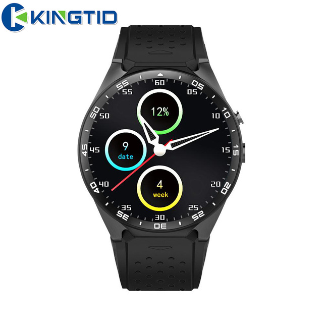 Kw88 android 5.1 smart watch 512 + 4 ГБ bluetooth 4.0 wi-fi 3 г smartwatch телефон 2.0mp наручные поддержка google voice gps карта
