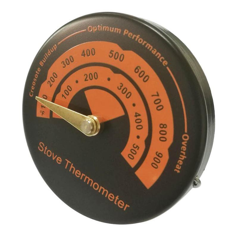 Oven Thermometer Fast Reading Aluminum Alloy Temperature Gauge Environmental Thermometer Stove Wood Burner Pipe Thermometer