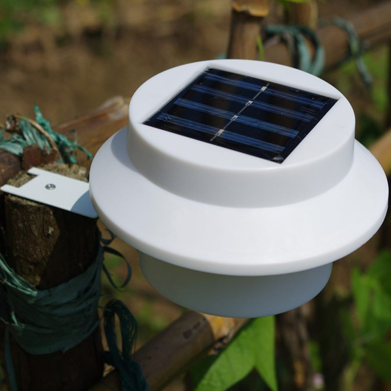 20pcs/lot Outdoor Solar light Powered 3 LED Light Fence ...