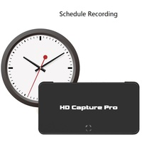 HD Video capture pro, convert HDMI/components to HDMI/USB Flash disk for game equipment, support playback,live video streaming