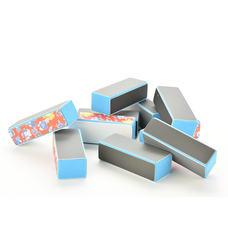 Hot Selling Nail Art Manicure Shiner Buffing Buffer Block File Sand Block for Women Nail Tool