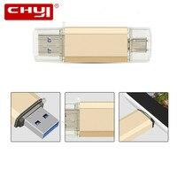 Type C USB Flash Drive 16 GB Pen Drive 64 GB Pendrive 32 GB OTG Memoria USB Stick 8 GB Hoge Snelheid USB 3.0 Flash Drive U Disk Gift