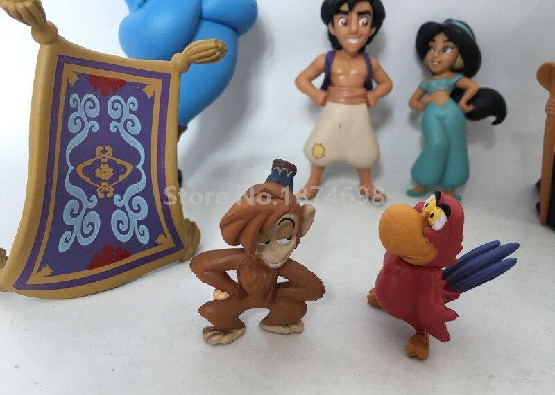 Nouveau Aladdin Figure Jouet Ensemble Aladdin Princesse Jasmine