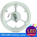 Anel LEVOU Luzes Do Tubo 12 W 18 W 24 W SMD 5730 LED Teto luzes de Emergência Ímã Placa PCB CFL Retrofit Substituir LEVOU Tubo Anel lâmpada