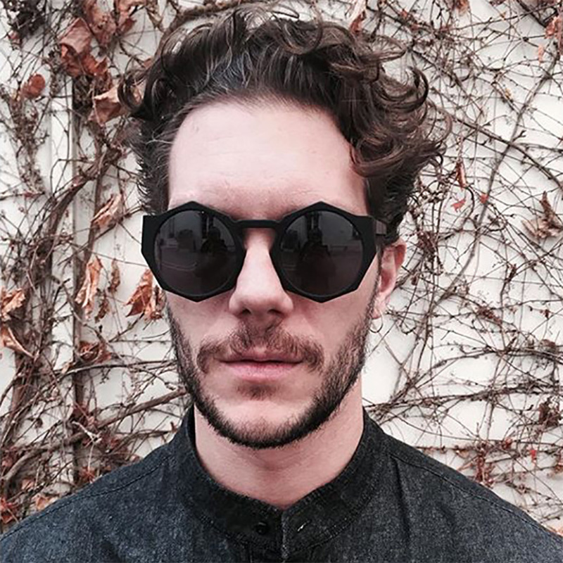 ZFYCOL 2017 Hombres Gafas de Sol Diseñador de Marca de Lujo Vintage Octagon Gafas de Sol Para Hombre Gafas De Sol Feminino UV400