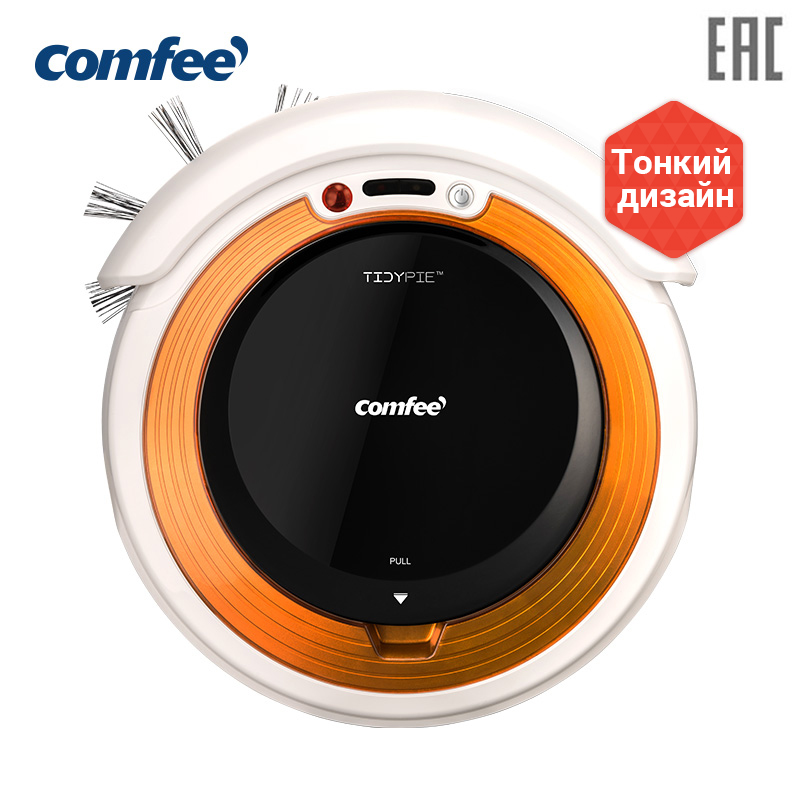 Wireless Robot vacuum cleaner Washing Mop for home for dry cleaning function Shipping from Russia Appliances Midea  Comfee CFR05, remote control цена в Москве и Питере