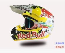 2016 marca profesional ECE Motocross Casco de moto Capacete Casco rojo / azul / amarillo protección sombrerería