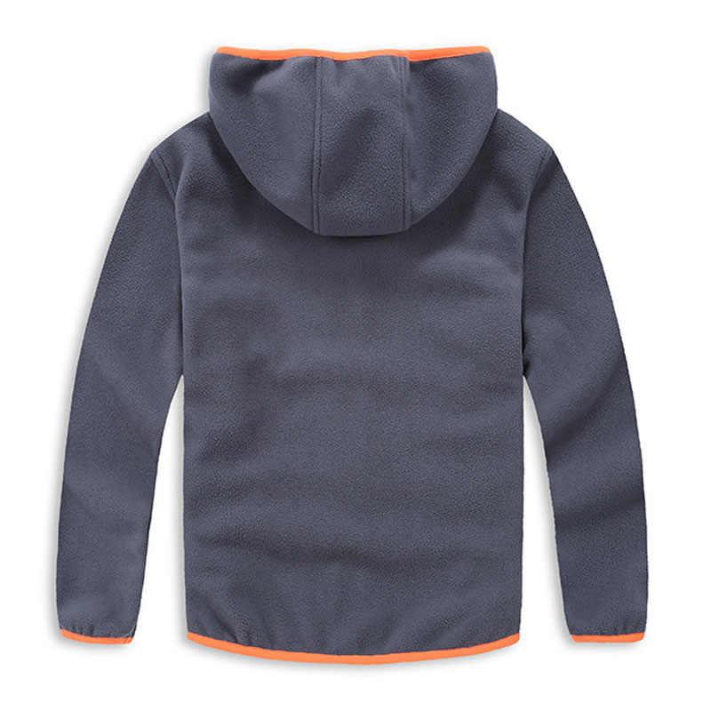 Коллекция 2019 года, весенне-осенняя модная спортивная куртка с капюшоном для мальчиков Новое поступление, детская мягкая верхняя одежда из флиса Верхняя одежда для детей От 3 до 14 лет