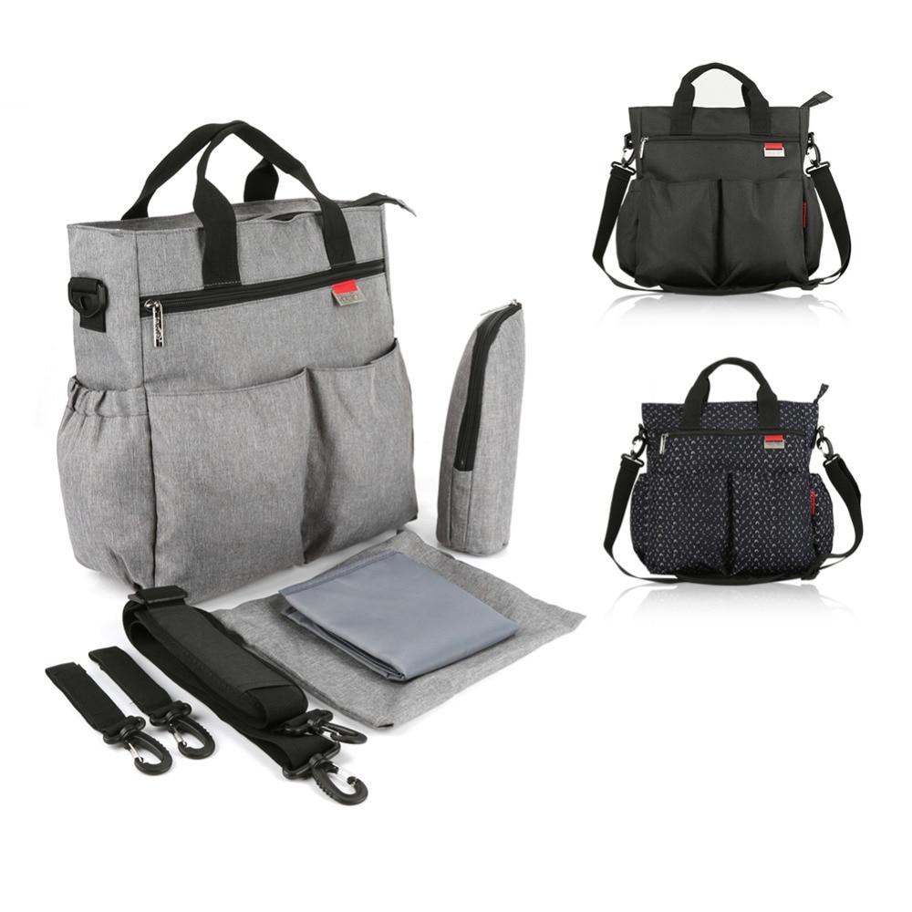 HTB1A4vpX6fguuRjy1zeq6z0KFXad Insular Mummy Diaper Bag Large Nursing Bag Travel Backpack Designer Stroller Baby Bag Baby Care Nappy Backpack bolsa maternidade