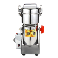 2016 Promotion Malt Mill Cafetera Pepper Grinder New Product 300g Sawing Vertical Powder Grinder/micro Phram Mill/free Shipping
