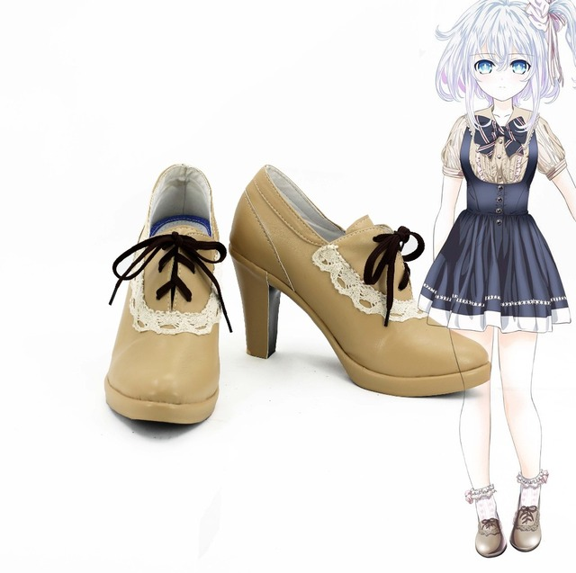 huge discount 892db 727e4 US $50.39 20% di SCONTO|Shakers mano cosplay eroe costume saber partito  lolita giapponese school girls scarpe sportive stivali scarpe su misura in  ...