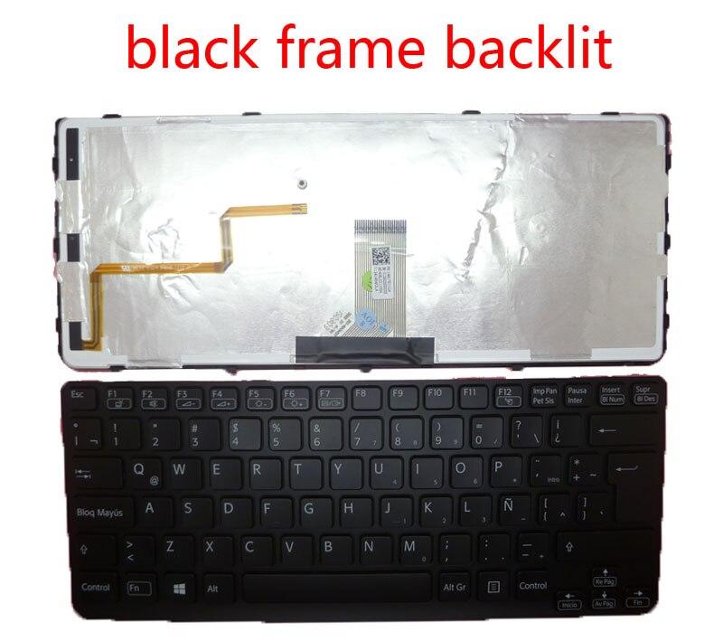 Laptop backlit Keyboard For SONY For VAIO SVE141 149177711LA 149020551LA 149180311LA 149175111LA 149020051LA Latin America LA