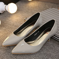 Woman Shoes Patent leather Low Heels Women Pumps Stiletto Thin Heel Women's Work shoe Pointed Toe red Wedding Shoes