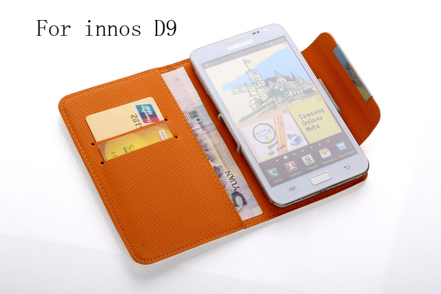 new item wallet bag Leather Phone Case For innos D9 Case  High Quality with Card Holder