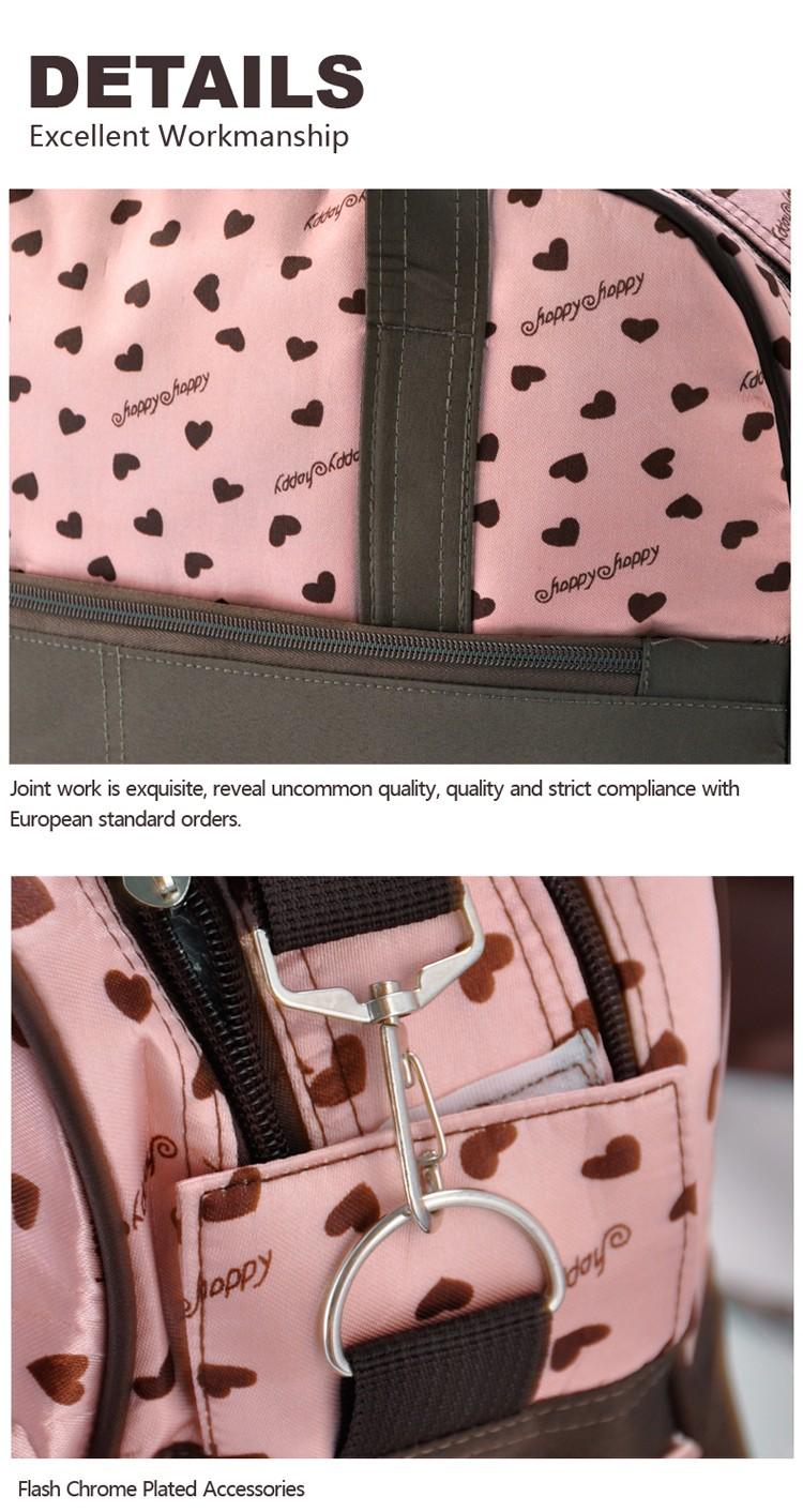 insular multifunctional diaper bags maternity mummy handbag baby care stroller bag High capacity mother Messenger nappy bags 11
