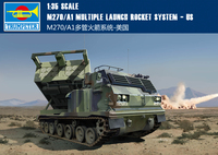 RealTS Trumpeter 1/35 01049 M270/A1 Multiple Launch Rocket System Military Model Kit