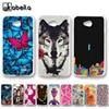 AKABEILA Plastic Phone Cases For LG Optimus L65 Dual D285 D280 L70 Dual D325 D320N D320 W5 Dual MS323 D329 Covers Nutella Back