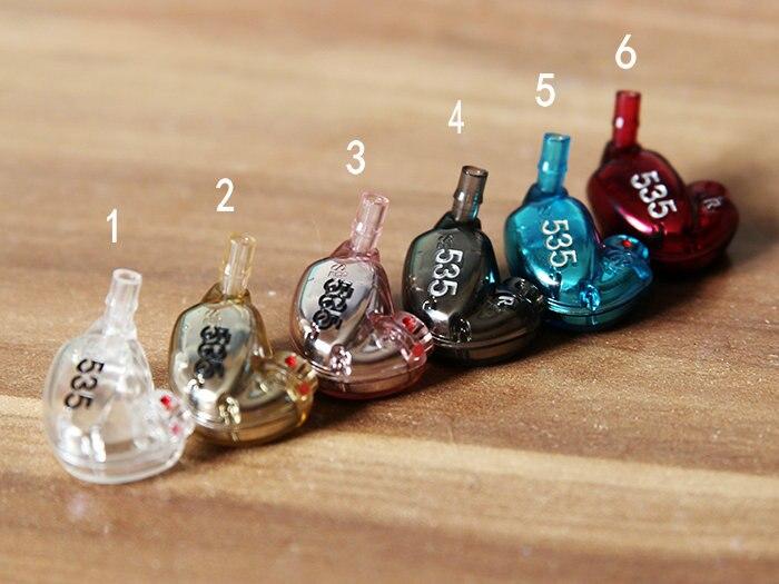 bilder für MLLSE 6 Farben Überzug Hochwertigen DIY Ersatzteile Gehäuse Shell Kruste Abdeckung Für Shure SE535 Lärm Isolieren Kopfhörer