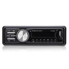 1 DIN FM Bluetooth Авто аудио в тире 12 В автомобиля Радио Поддержка музыке стерео удаленного USB SD Mp3 плеер Aux tyco Opel Hands-Free