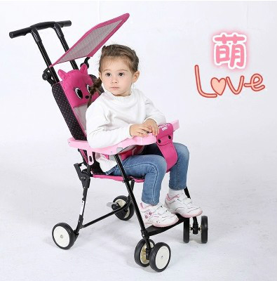 baby stroller lightweight portable folding children four-wheel cart baby stroller lightweight portable folding children four wheel cart